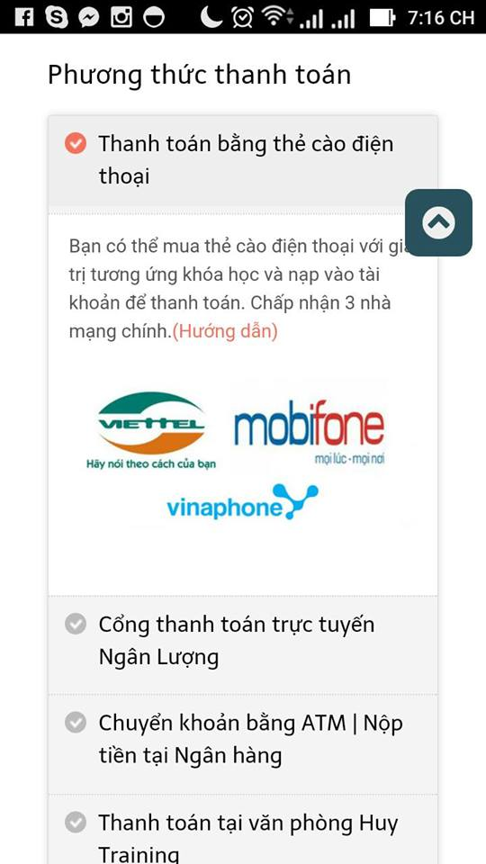 thanh toan the cao woocommerce